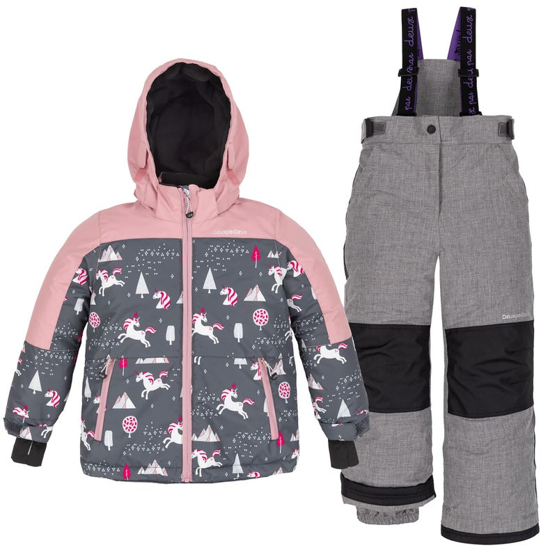 Unicorn Snowsuit 2-6y