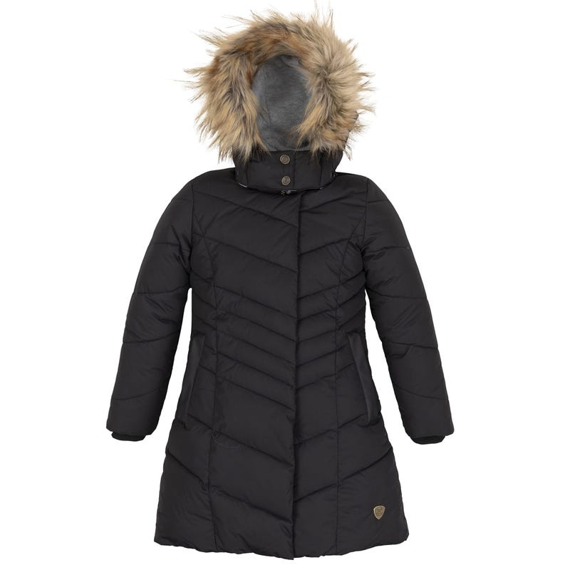 Puffy Long Jacket 7-10y