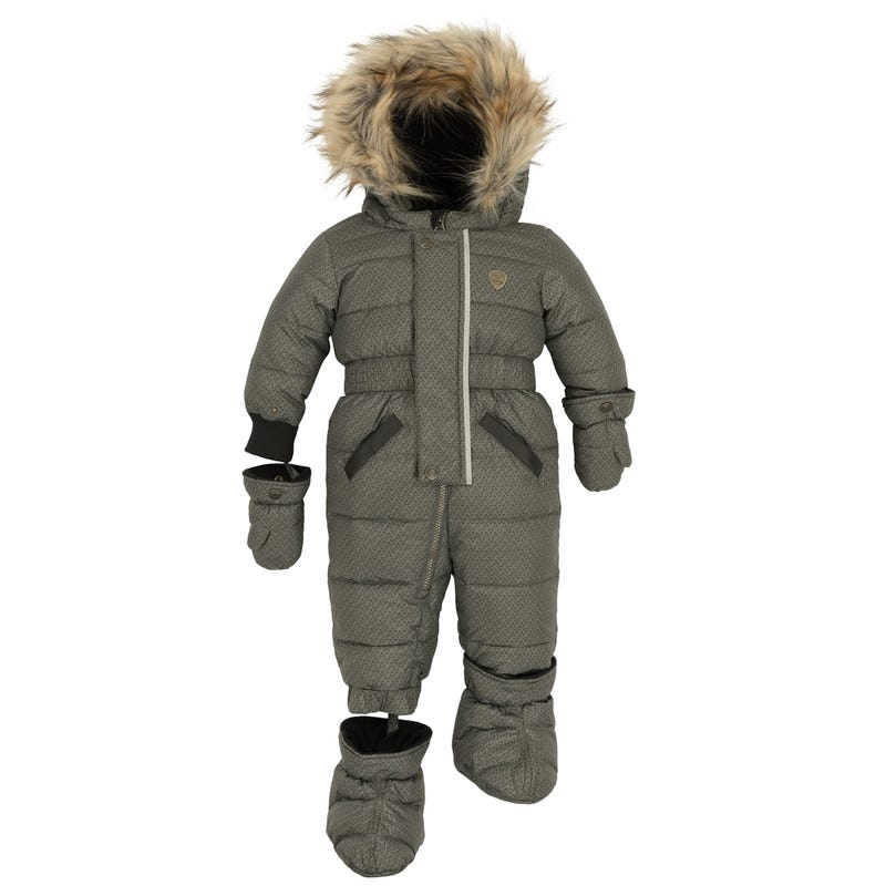 Puffy Snowsuit 12-24m
