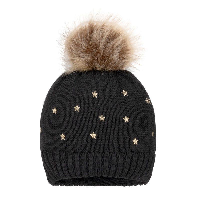 Tuque Tricot Étoiles 3-14