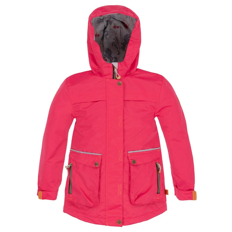 Solid Nylon Jacket 3-6y