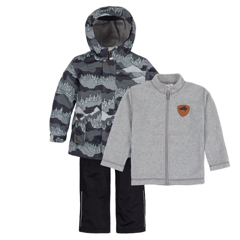 Mountains 3 in 1 Outerwear Set 2-6y
