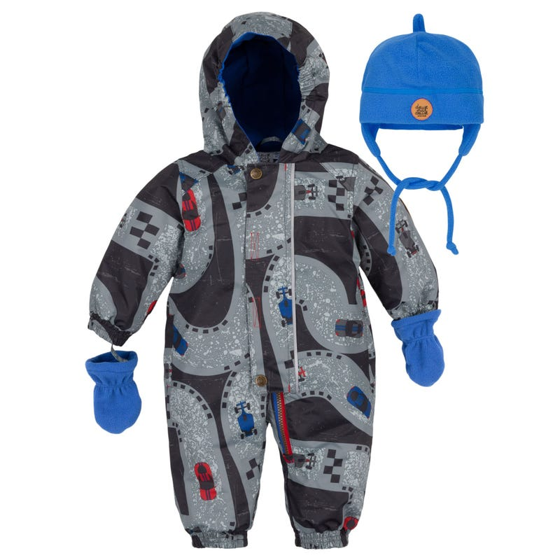 Cars 1 Piece Outerwear 12-24m