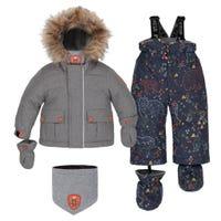 Bear 2 Pieces Snowsuit 18-30m
