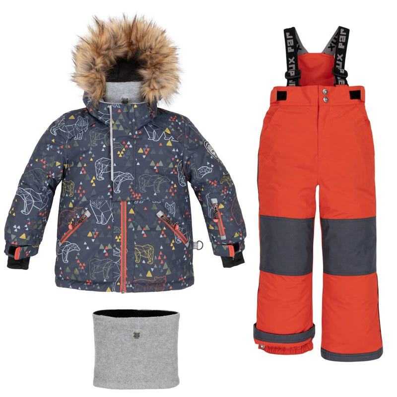 Bear Snowsuit 7-10