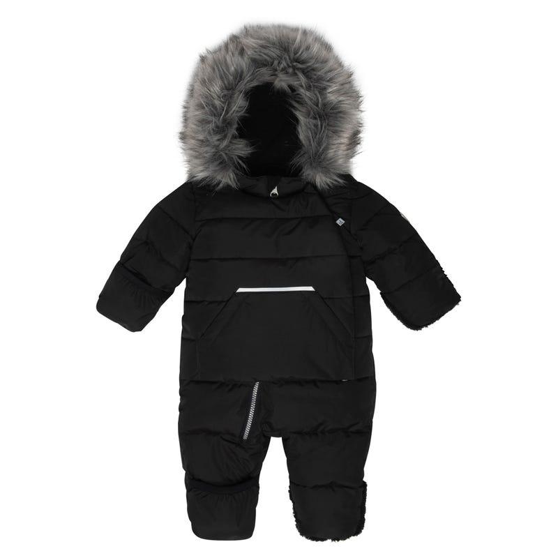 Black 2.0 Puffy Snowsuit 6-24m