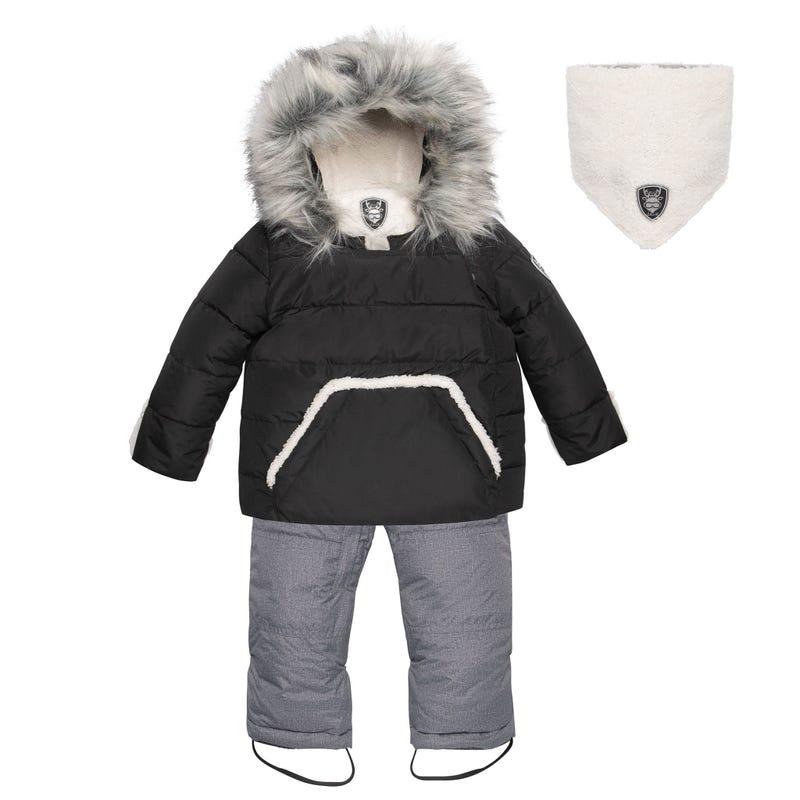 Hedgehogs Solid Snowsuit 18-30m