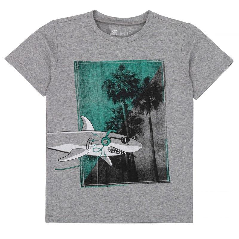 Oh Boy Shark T-Shirt 3-6y