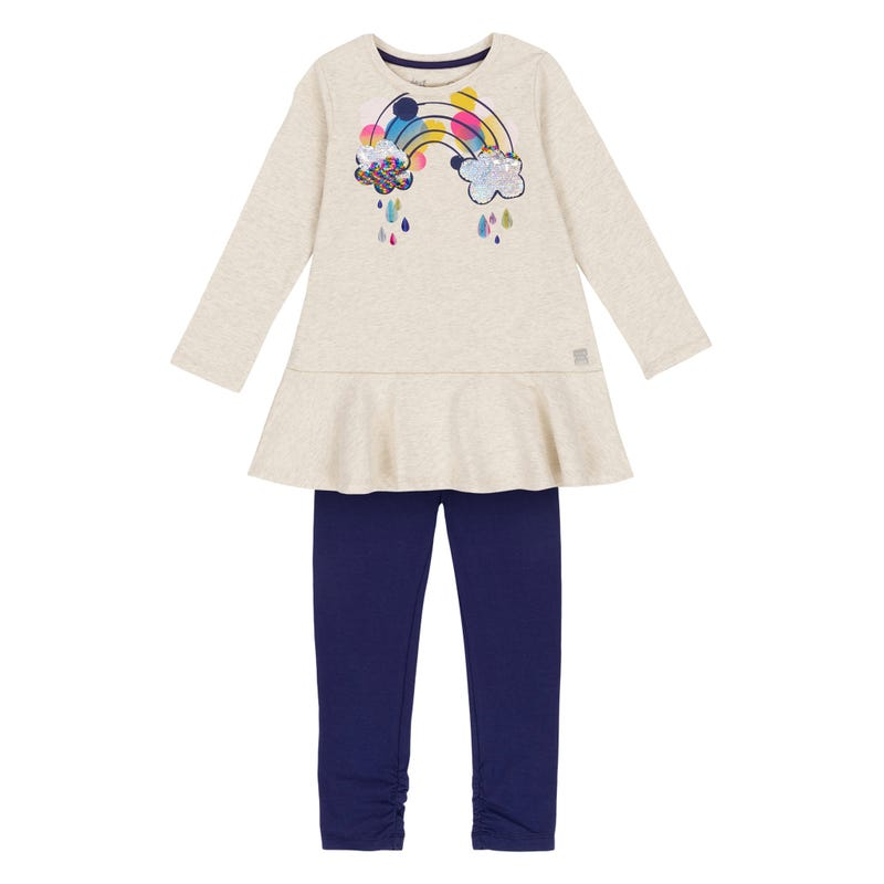 Unicorn Tunic Set 3-6y