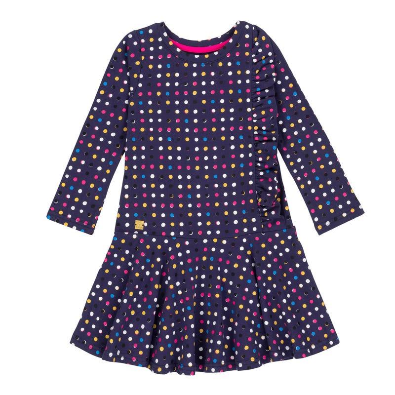 Unicorn Ruffle Dress 3-6y