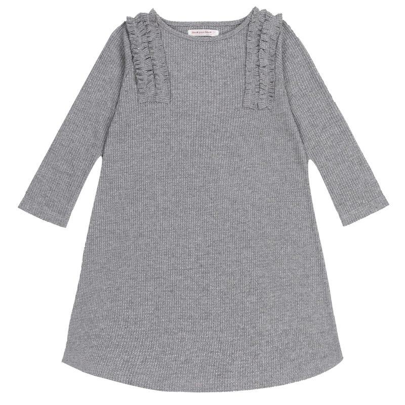 Chic Long Sleeves Dress 3-6y