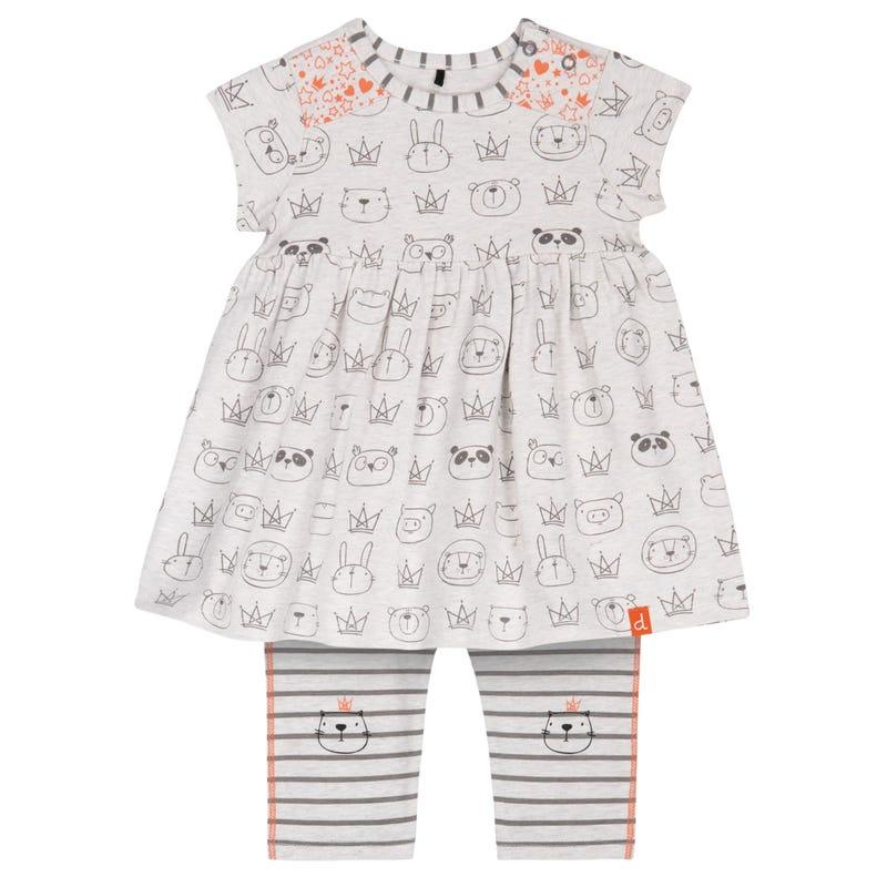 Princess Animal Dress Set12-24