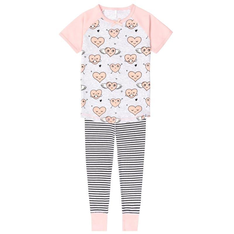 Heart Pajamas 7-10