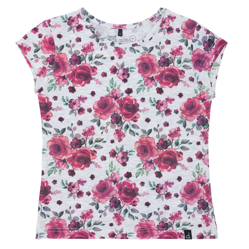 T-Shirt Imprimé Romance 7-10ans