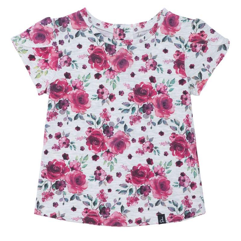T-Shirt Imprimé Romance 12-24mois