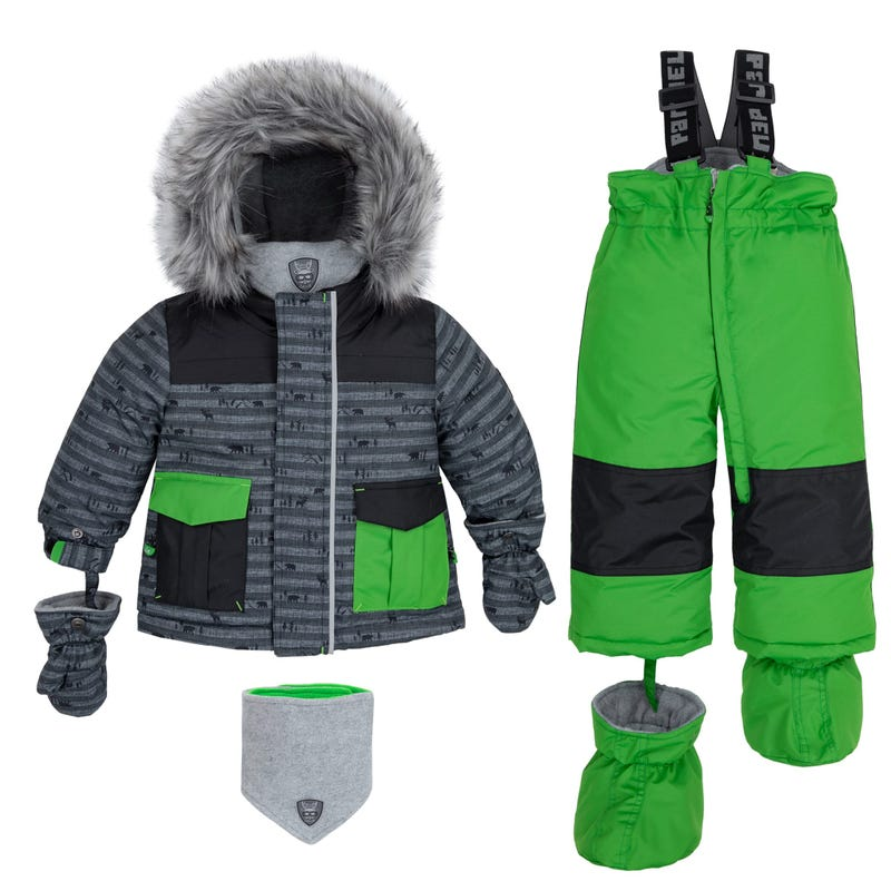 Wood 2pcs Snowsuit 18-30m
