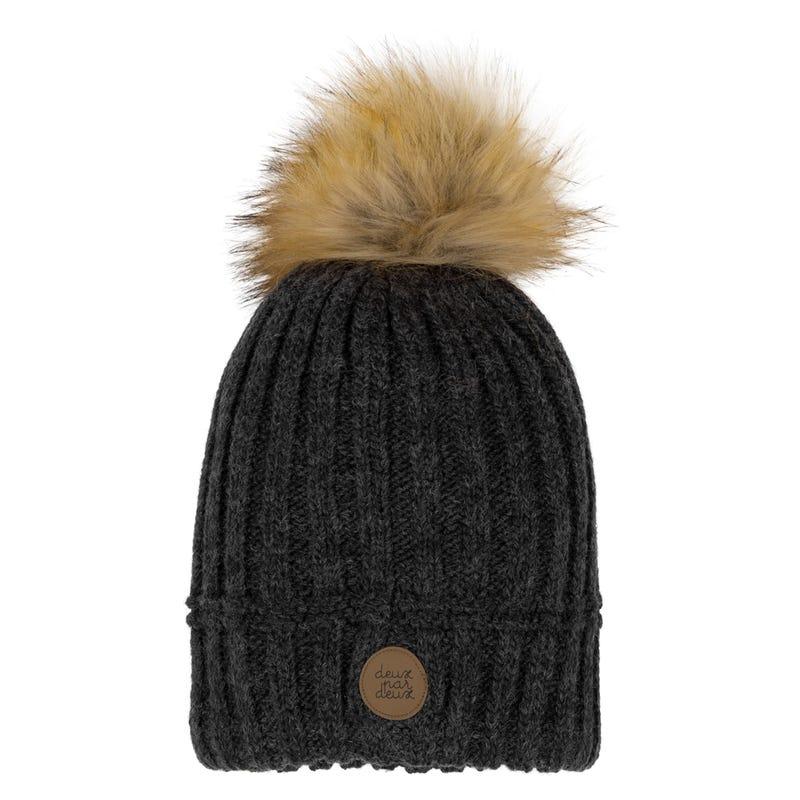 Fur Pompom Beanie 2-14y