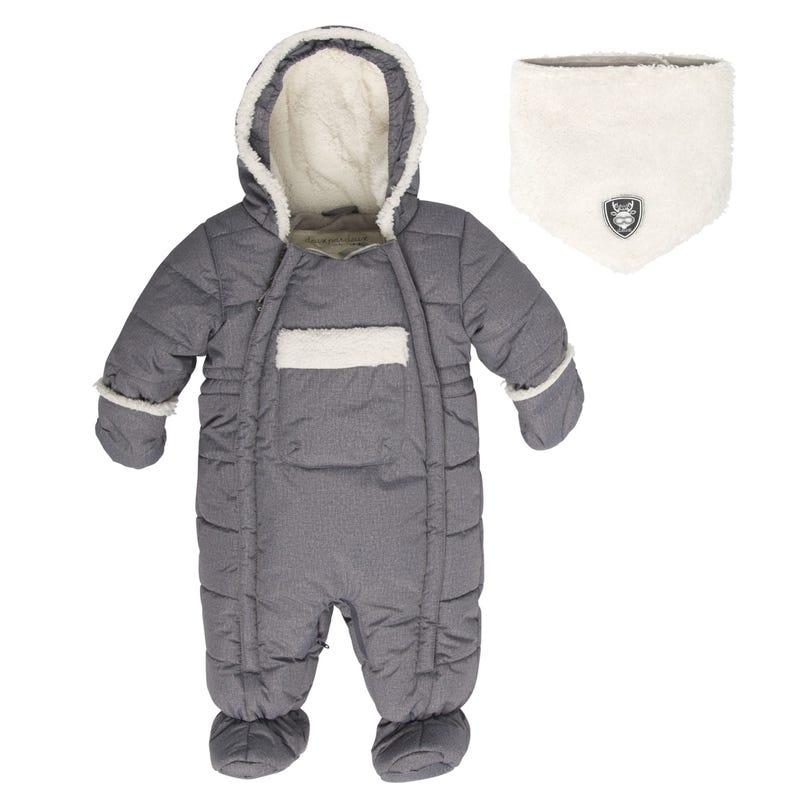 Hedgehogs Solid Snowsuit 6-18m