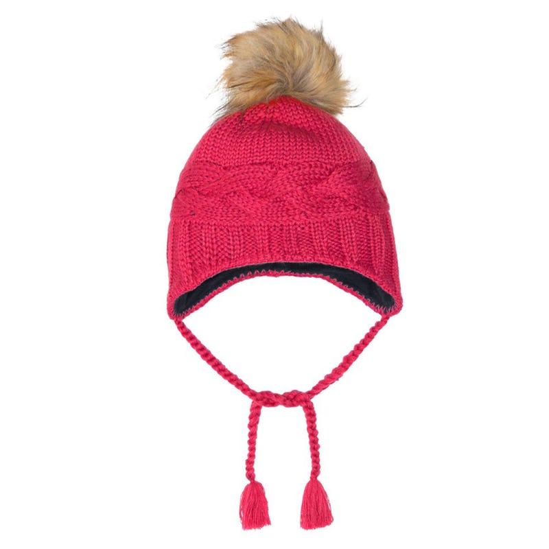 Cat Knit Beanie 2-14y