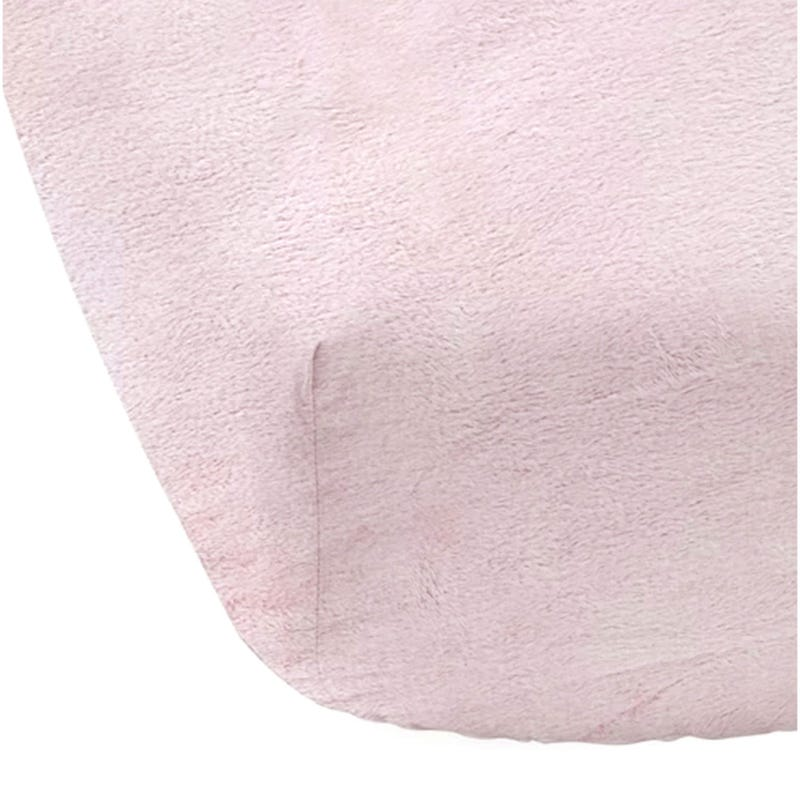 Crib Fitted Sheet - Pink