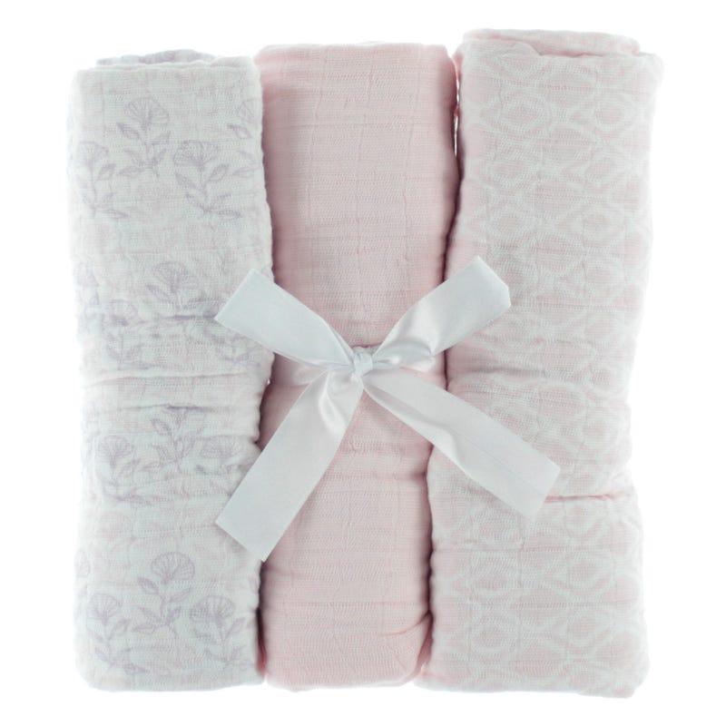 Blankets(3) - Rose Muslin