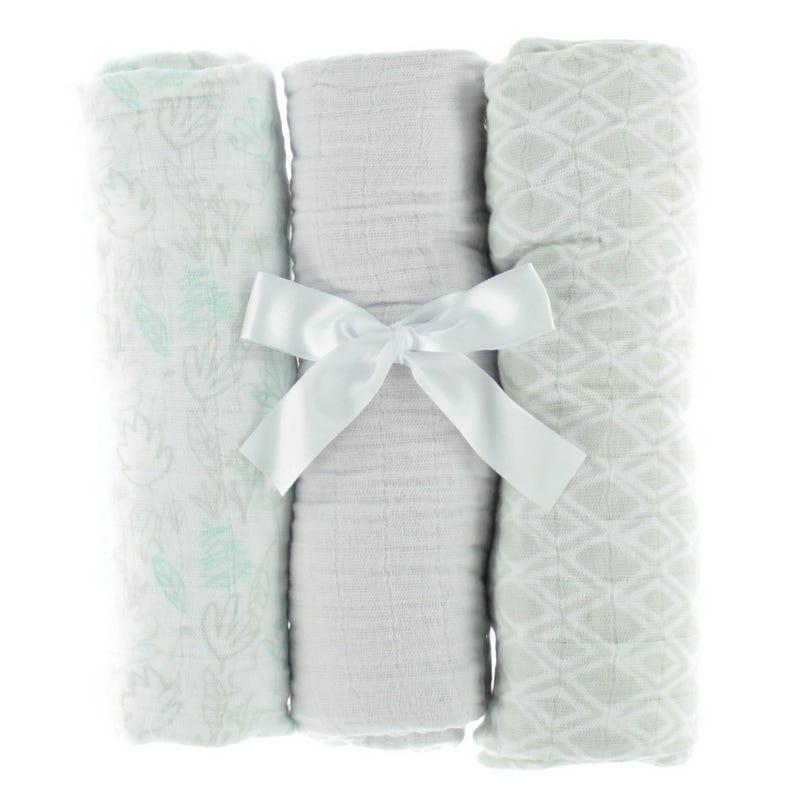 Blankets(3) - Grey Muslin