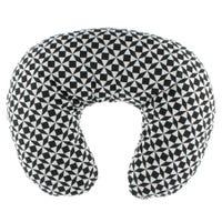 Square Nursing Pillow - Black/White