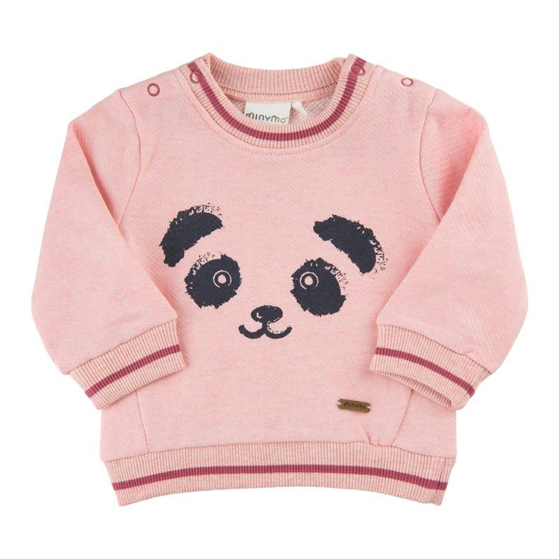 Gilet Ouaté Petite Panda 1-18m