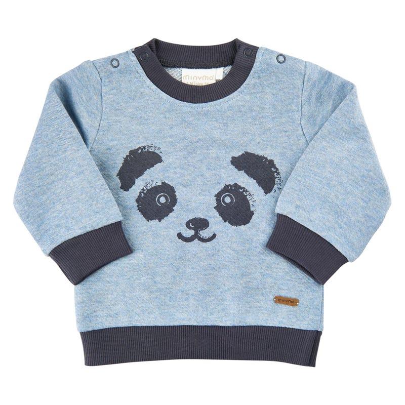 Gilet Ouaté Panda 1-18m