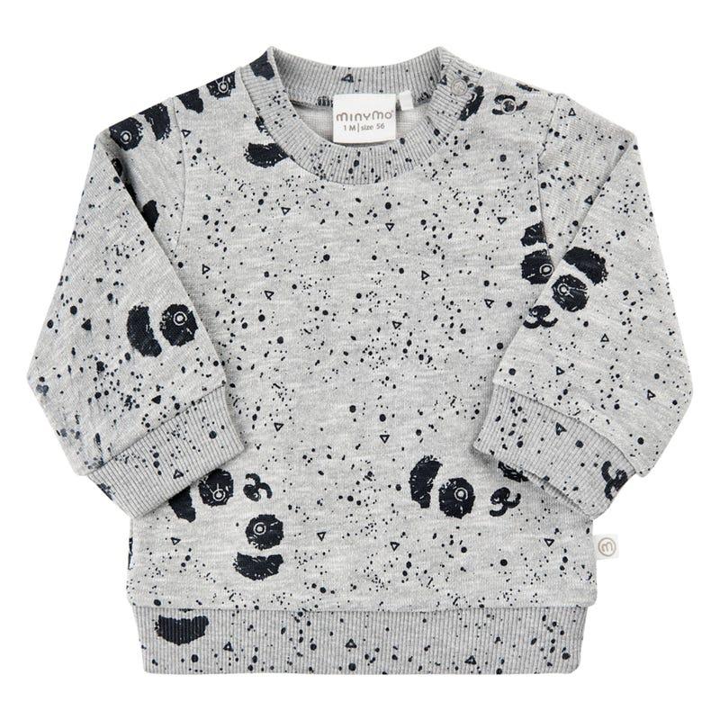 Sweatshirt Panda 1-18m