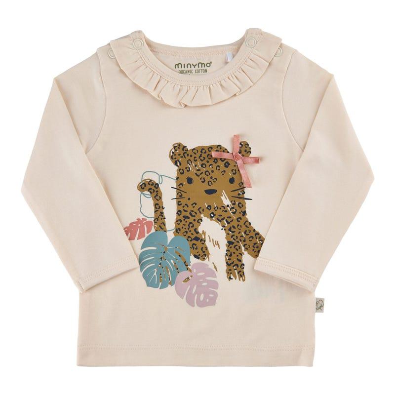 Jungle Leopard T-shirt 6-24m