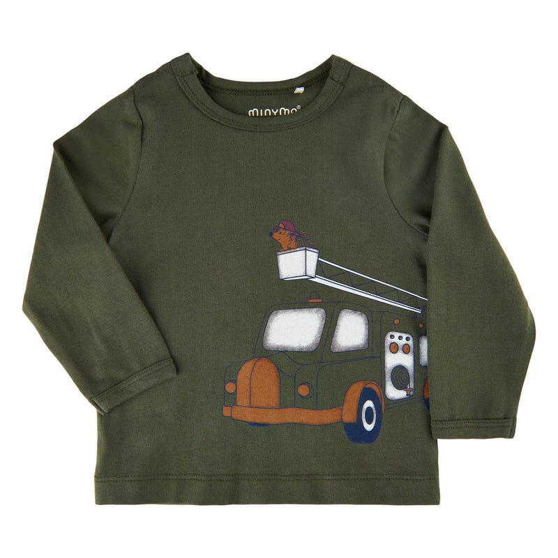 Animal Truck T-shirt 6-24m