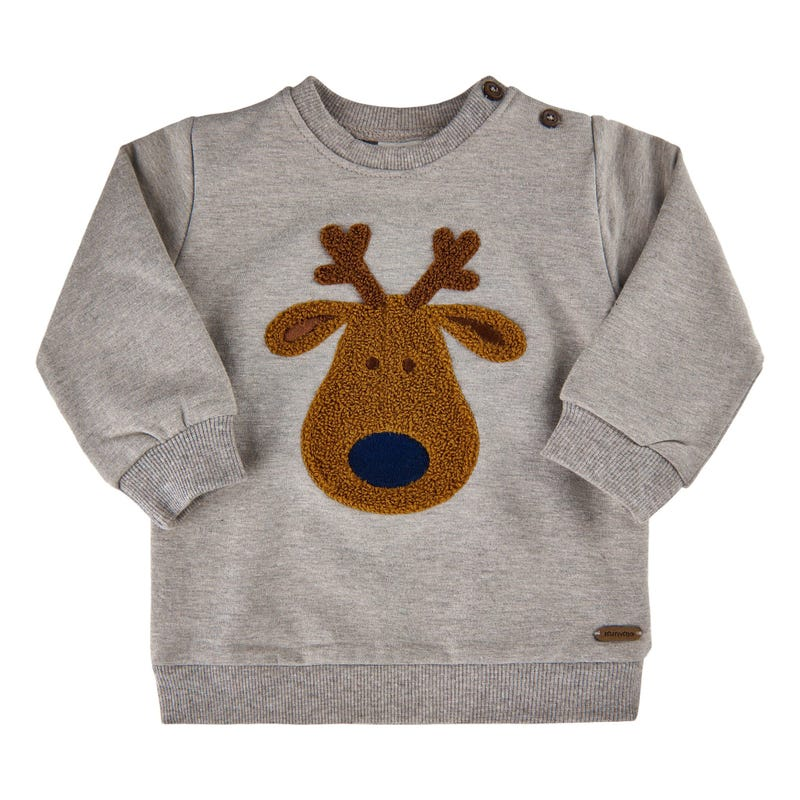 Animal Moose Sweatshirt 6-24m