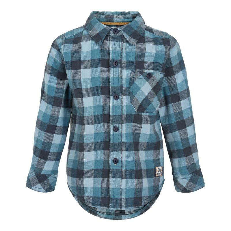Camping Plaid Shirt 12-24m