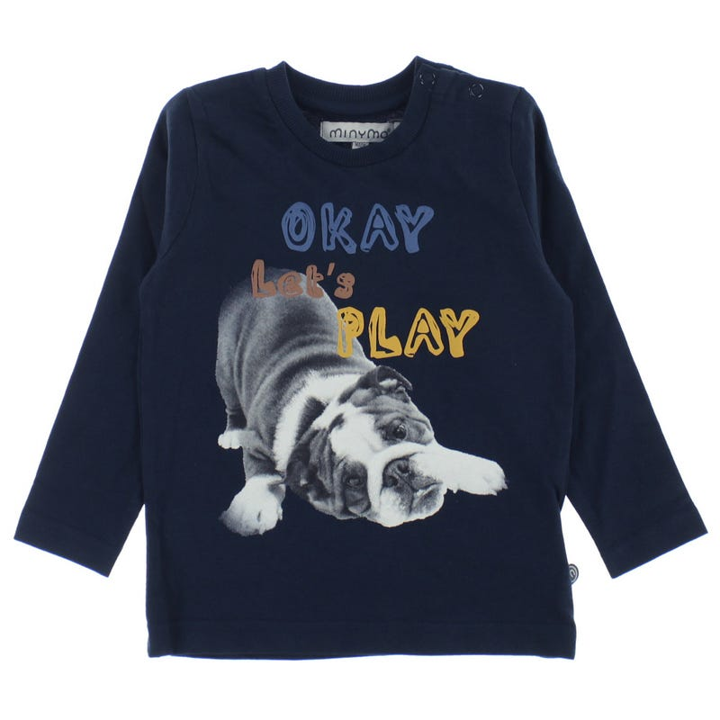 T-shirt Chiot 12-24m