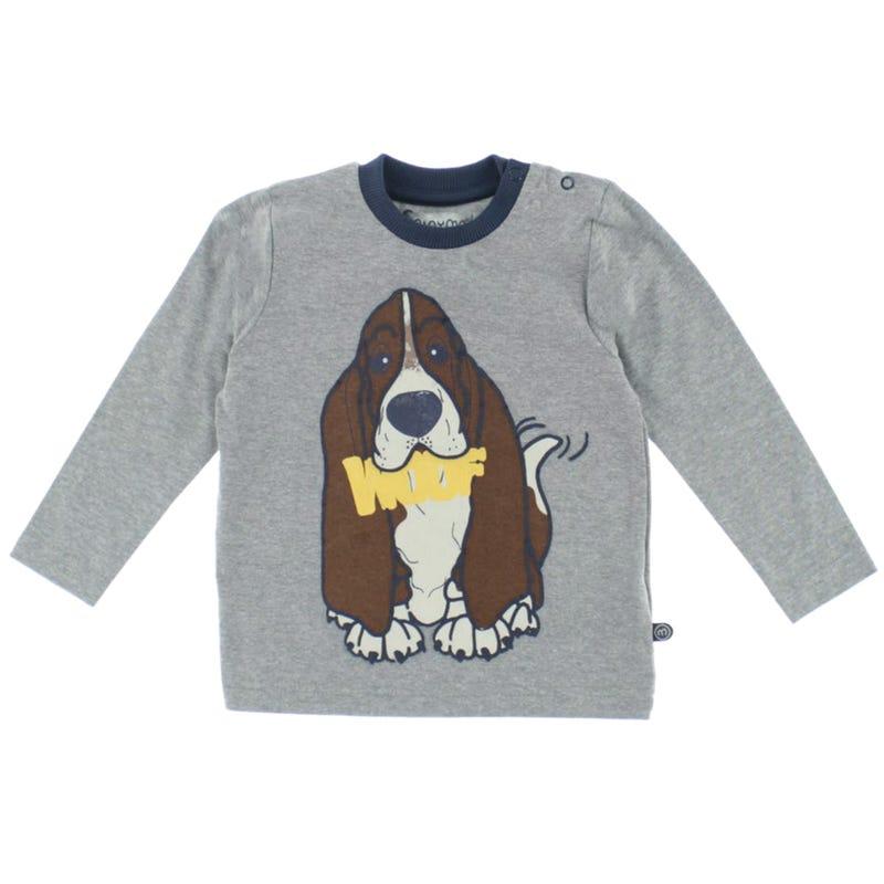 T-shirt Woof Chiot 12-24m