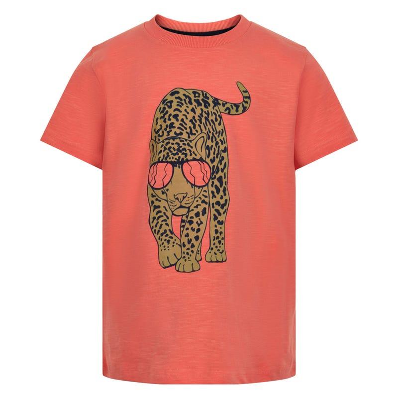 T-shirt Léopard Safari 3-8ans