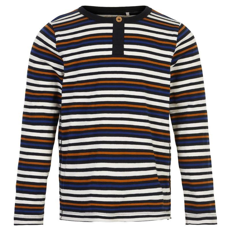 T-shirt Henley Urbain 3-8ans