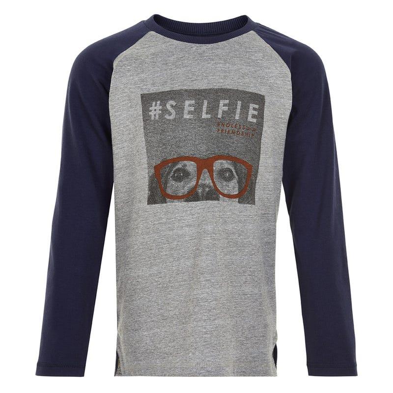 T-shirt Raglan Jeu 4-6ans