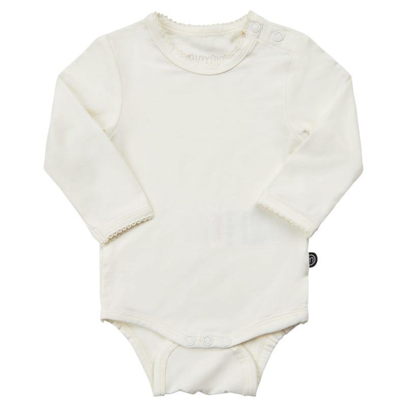 Solid Panda Bodysuit 0-18m