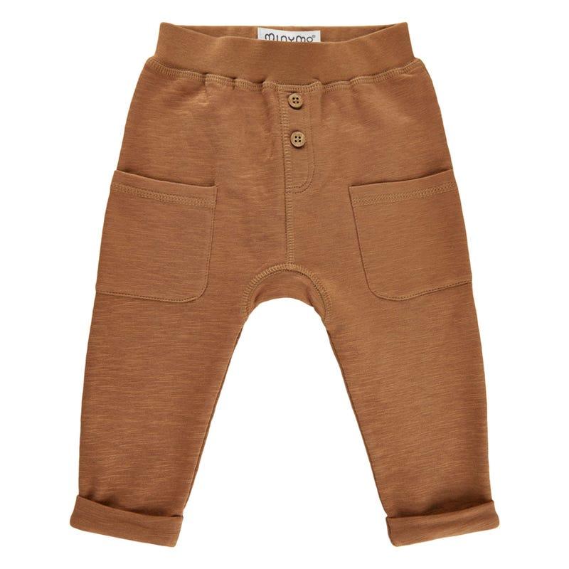 Pantalon Ouaté Poches Savane 6-24mois