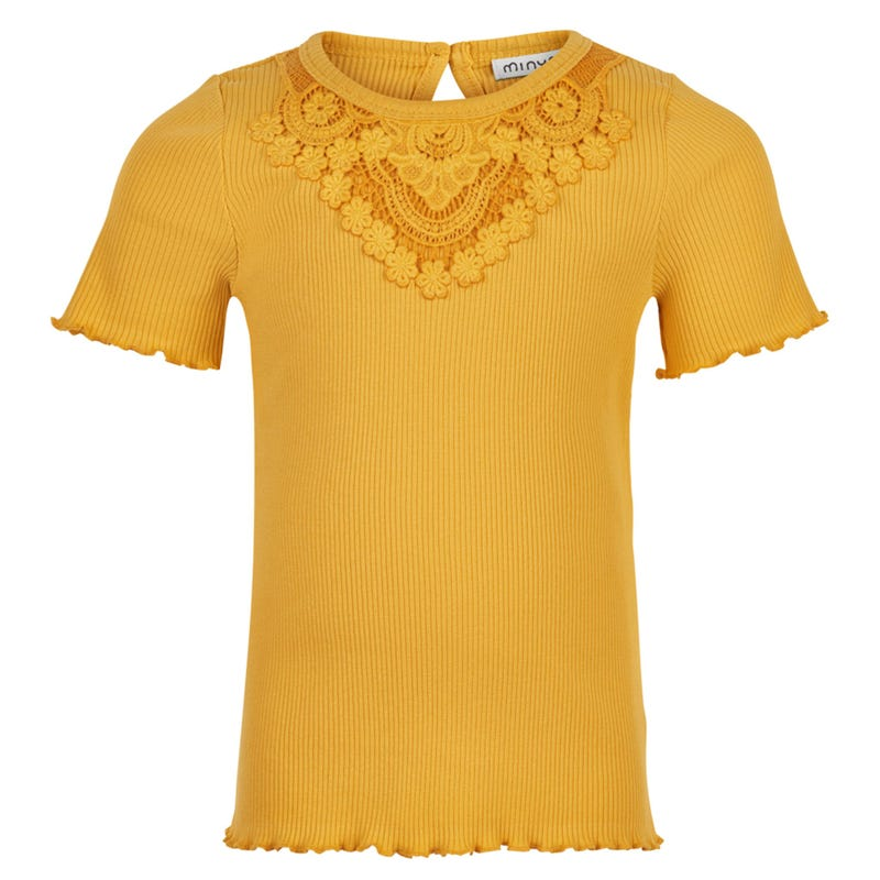 T-shirt Dentelle Tropical 3-8ans