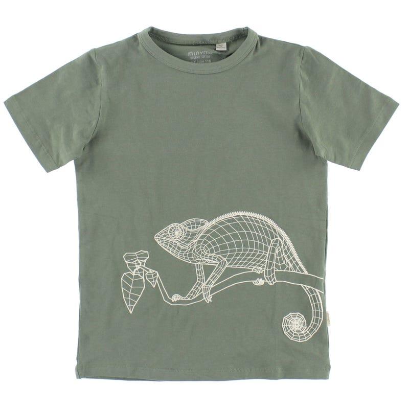 T-shirt Caméléon Safari 3-8ans