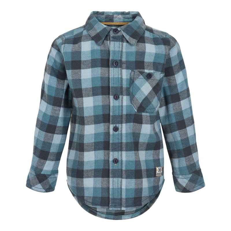 Camping Plaid Shirt 3-6