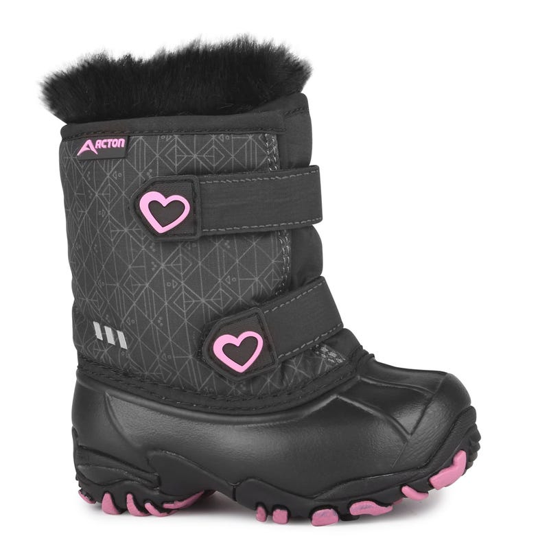 Heart Giggle Boots 4-10