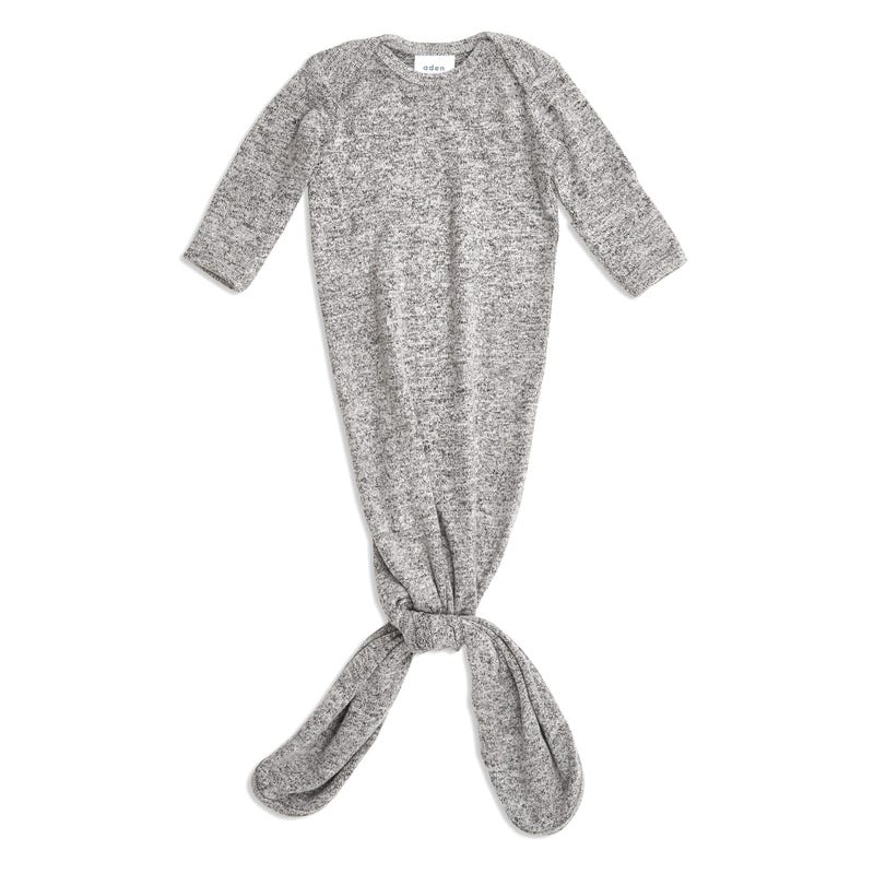 Snuggle Knit Gown 0-3months - Grey