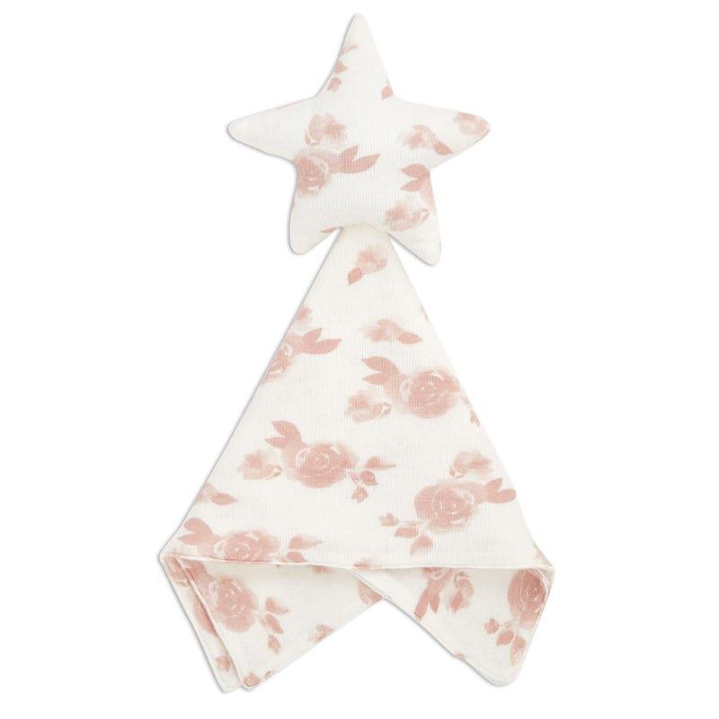 Snuggle Knit Lovey - Rosette