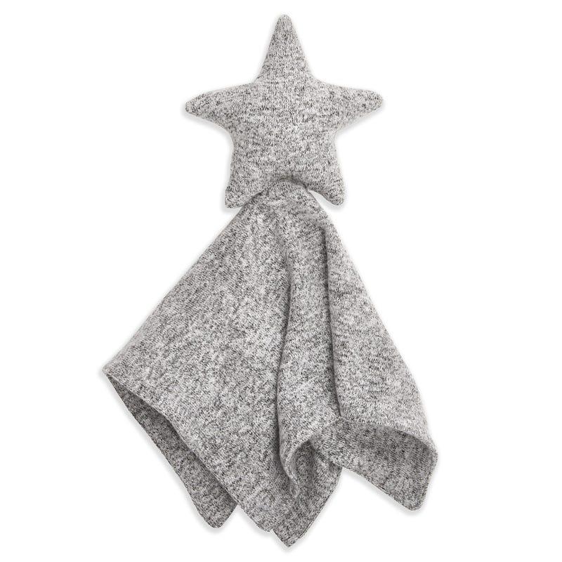 Snuggle Knit Lovey - Grey