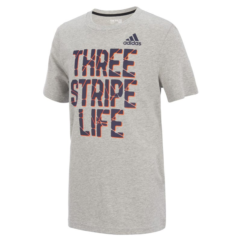 T-Shirt Three Stripe Life 2-7ans