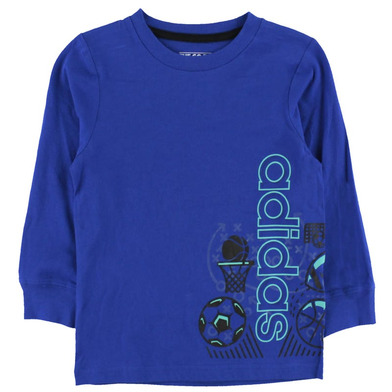 Linear Collage Long SleeveT-Shirt 4-7y